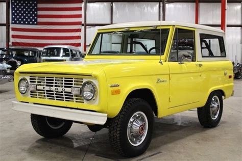 old cars and repair manuals free 1971 ford mustang free book repair manuals 1971 ford bronco 67666 miles yellow suv 302 v8 manual classic ford bronco 1971 for sale