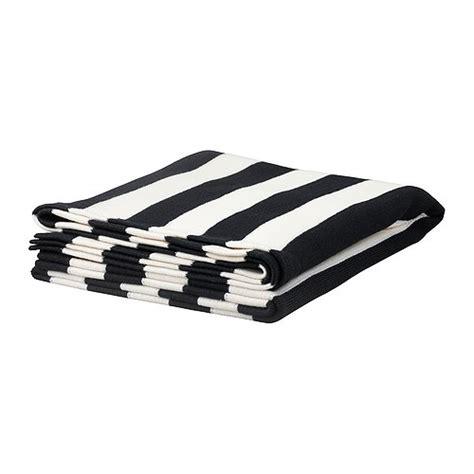 black and white sofa throws eivor throw ikea