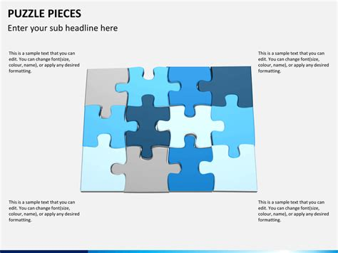 Puzzle Pieces Powerpoint Template Sketchbubble Ppt Puzzle