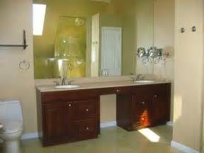 cherry sink master bathroom vanity mediterranean