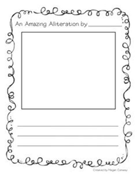 alliteration poem template alliteration poem template 15 decorating 1000 images about school on personal