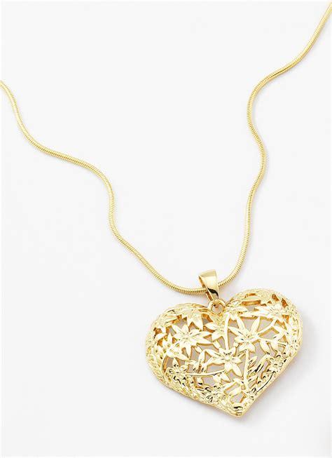 cadenas de oro para mujer con dije de corazon dije con 4 ba 241 os de oro de 18 kilates y piedras de cristal