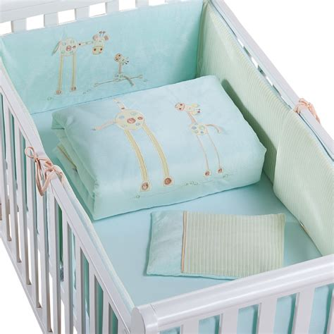 nursery bedding sets with curtains promotion baby bedding set cotton curtain crib bumper