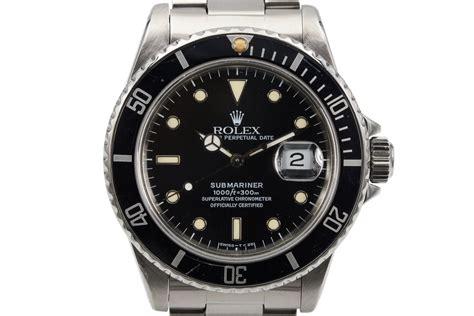 HQ Milton   1985 Vintage Rolex Submariner 16800, Inventory #8451