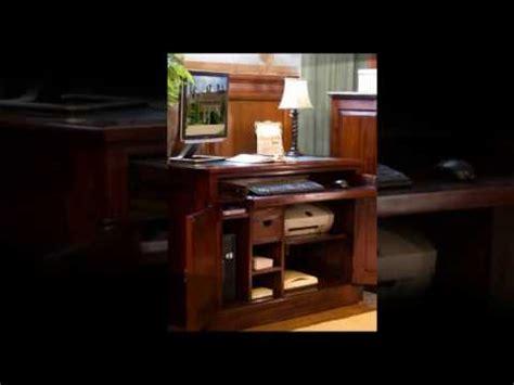 concealed computer desk mahogany concealed computer desk workstation free uk