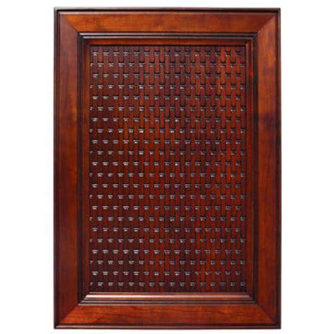 Decorative Cabinet Door Inserts Door Inserts Solid Wood Basketweave Embossed Panel In Four Species Of Wood Kitchensource