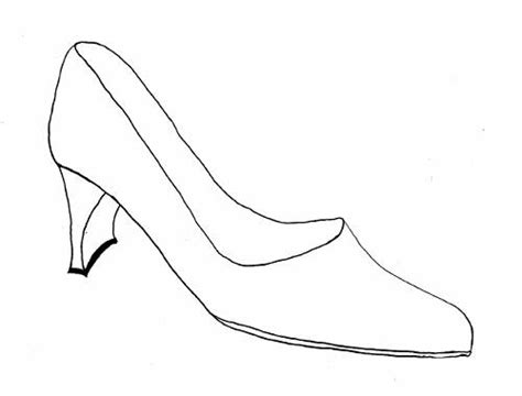dress shoes coloring page shoes drawing designs sketches