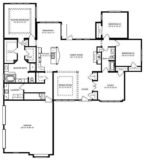 Expressmodular Jamison Aai 017 2396 Square Foot Ranch Floor Plan