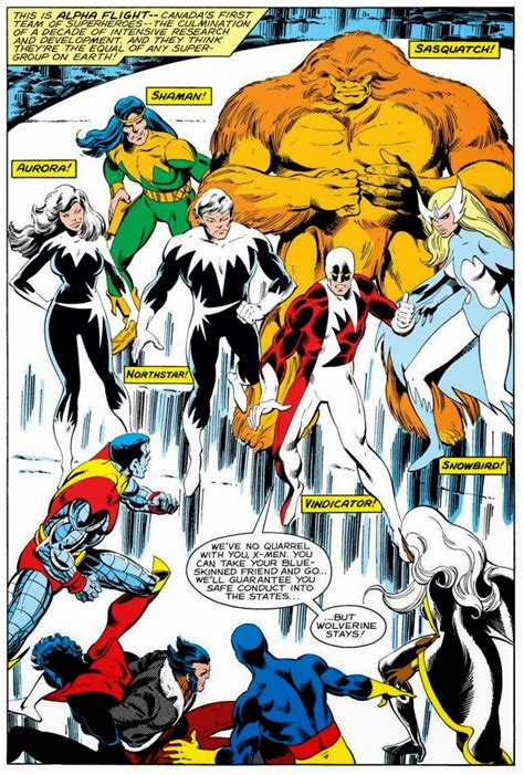 alpha flight by john 1302904051 x men vs alpha flight by john byrne the art of john byrne artworks skating and