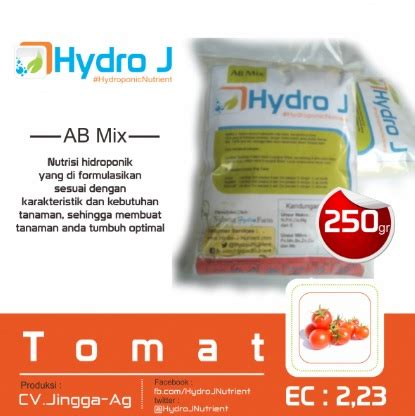 Pupuk Ab Mix Untuk Aquascape nutrisi ab mix tomat jual tanaman hias