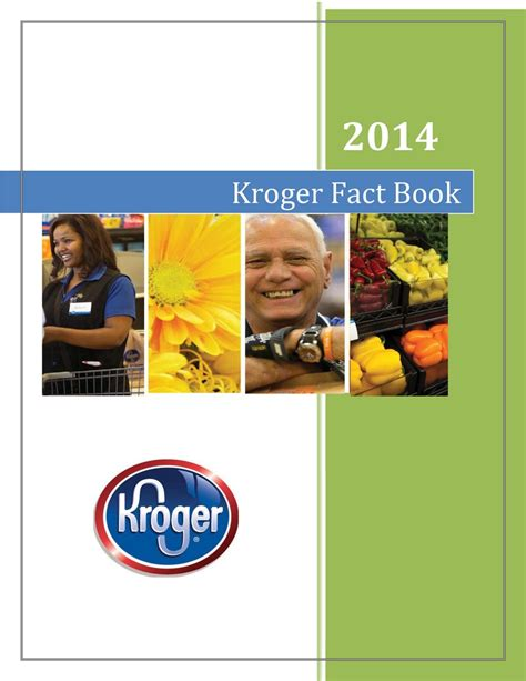 the kroger co 2014 fact book