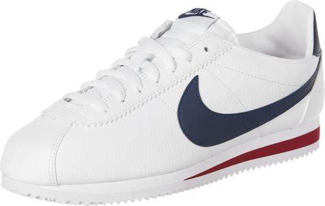 Nike Cortez Clasic nike classic cortez leather shoes white blue