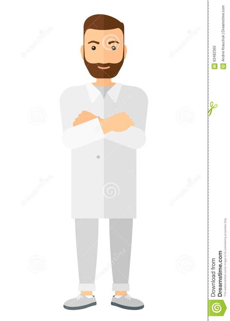 lab assistant pattern male laboratory assistant stock vector image 63482360