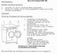 Ok Waschmaschine Ersatzteile by Wama Miele Oder Auch W 228 Schetrockner 246 Ffnen Reparatur