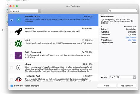 tutorial xamarin mac update to xamarin forms 3 0 pre release available today