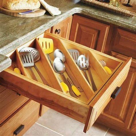 organizing kitchen drawers utensil drawer organized organize organize