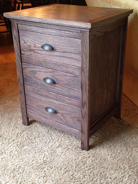 How To Build A Nightstand With Drawers how to build a nightstand with a secret drawer plans free