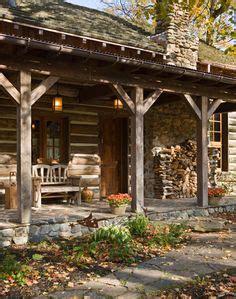 log cabin porch dreams decor pinterest 1000 images about wrap around porches on pinterest wrap