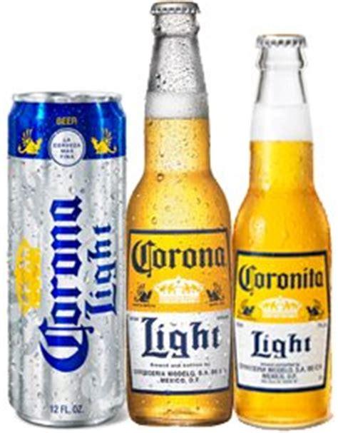 corona light vs light corona light serves up the in a can