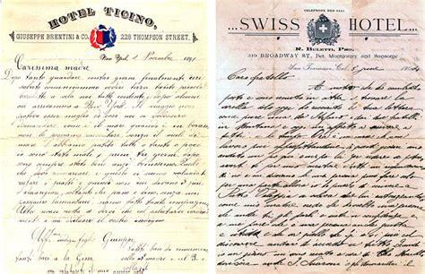 lettere di emigranti italiani curiosando tra lettere e vecchi oggetti swi swissinfo ch