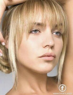 hair with wispy front and sides best 25 face framing bangs ideas on pinterest