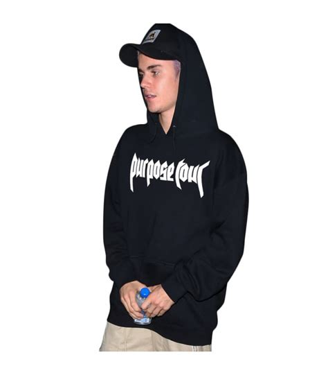 Hoodie Purpose Tour Justin Bieber Japan the explorers shop ready to wear on the merch