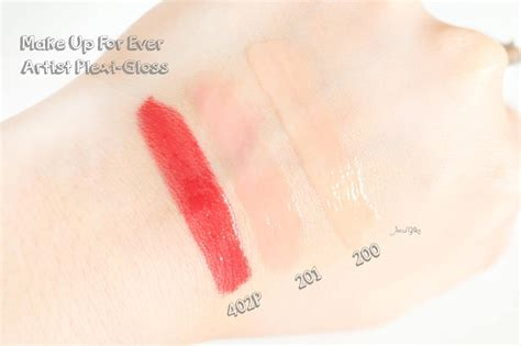 Lip Gloss Makeup Forever review make up for artist plexi gloss swatches