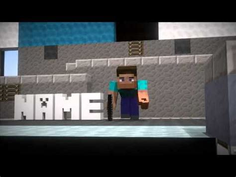 minecraft blender intro template awesome minecraft blender intro template