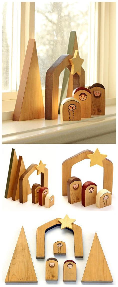 pattern for wood nativity scene free wood pattern for nativity woodworking projects plans