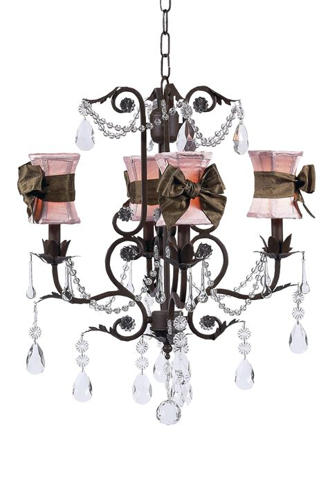 brown chandelier l shades hourglass chandelier shades w sash on valentino chandelier