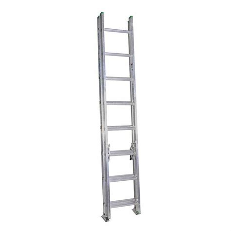 werner 16 ft aluminum extension ladder with 225 lb load