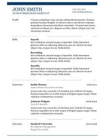 best resume templates 5 best sles resume objective exles sles of cv