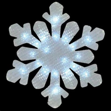 Battery Operated Window Decorations by 17 In Battery Operated Snowflake Window Decor 48 163 00