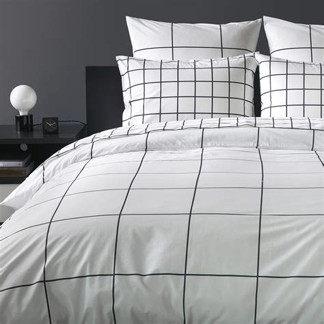 Grid Bed Sheets by Grid Duvet Cover Unison