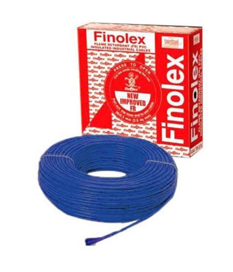 buy finolex 4mm fr house wire at low price in india snapdeal