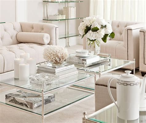 Pin By White By Mehar On Styling White By Mehar Silver Tray Coffee Table