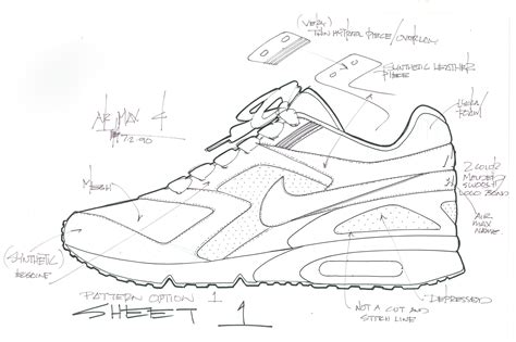 yeezy pattern vector nike air classic bw sketches sole collector