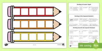 Target Card Template Ks2 by New End Of Ks2 Expectations Cards Editable Writing Target