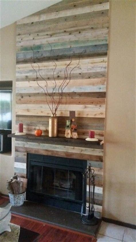 Pallet Wall Fireplace by Best 25 Pallet Fireplace Ideas On