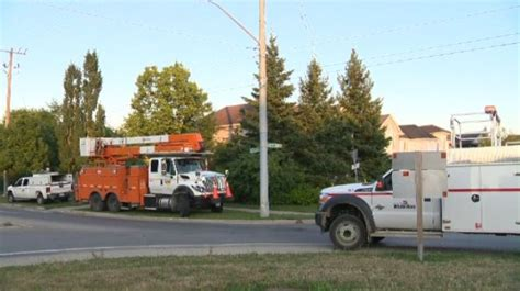 Laurelwood Kitchener by Driver Disappears After Car Hits Pole In Waterloo Ctv