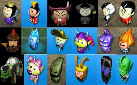disney infinity villians disney villains collage by mileymouse101 on deviantart