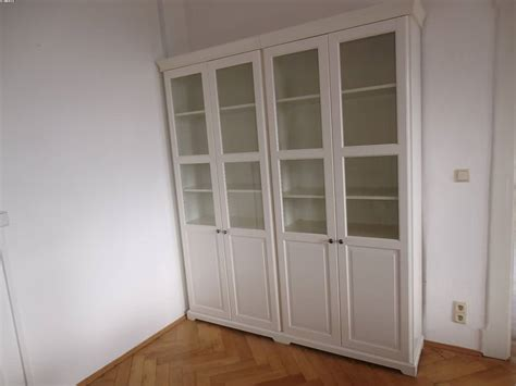 ikea schrank vitrine b 252 ro 2 st 252 ck ikea vitrine glasschrank schrank wei 223 2 st 252 ck