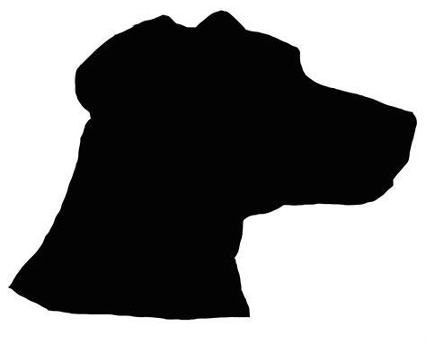Dog Head Silhouette Clip Art | dog head silhouette cliparts co