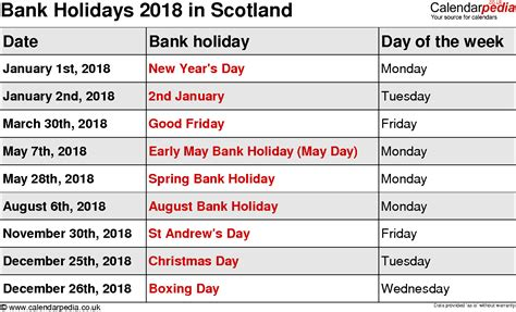 bank march march 2018 bank 2018 calendar with holidays