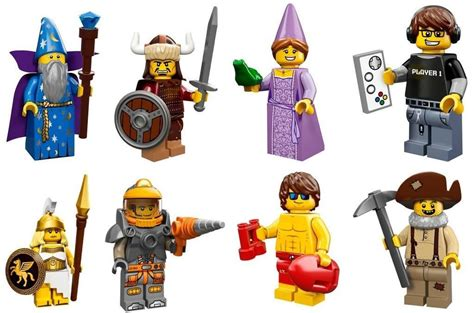 Lego The Original Minifigures Series lego minifigures series 12 71007 released in stores bricks and bloks