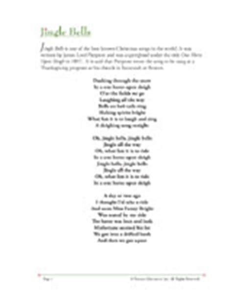 printable lyrics for jingle bells lyrics jingle bells new calendar template site