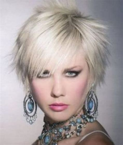 spikey choppy bob adriana lima short spiky hairstyles for women
