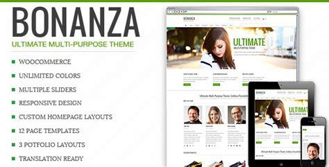 themeforest xy bonanza responsive multi purpose wordpress theme