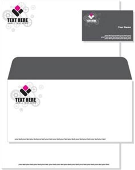 flower business card template illustrator black and pink floral on letterhead visiting card and