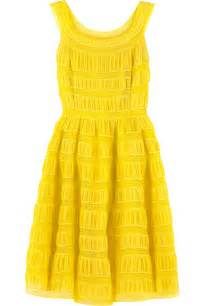 yellow dress style 2016 2017 fashion gossip